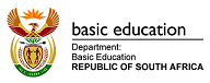 Department of Basic Edication Logo
